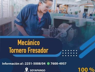 Mecánico Tornero Fresador