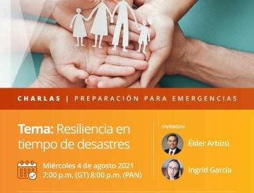 Resilencia en tiempos de desastres