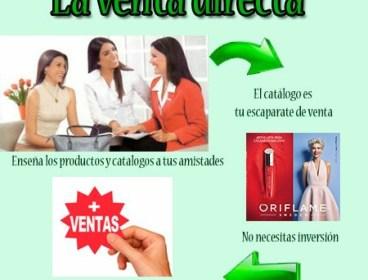 GENERA INGRESOS VENDIENDO ORIFLAME