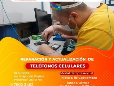 Reparación y actualización de teléfonos celulares
