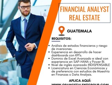 Financial Analyst Real Estate