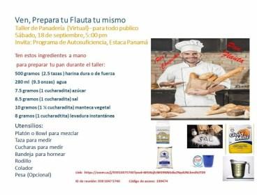 PREPARACION DE PAN FLAUTA