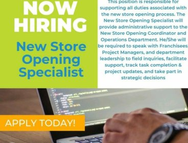 NEW STORE OPENING SPECIALIST