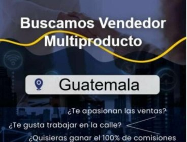 VENDEDOR MULTIPRODUCTOS