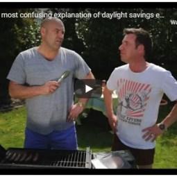 Daylight Saving Explained
