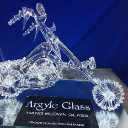Argyle Glass handmade glassware