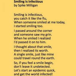 Smiling - By Spike Milligan