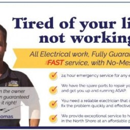 Need An Electrician? - Call 1300 911 307