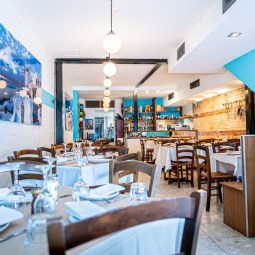 Popular Greek Restaurant Santorini on Oxford Moves to a Bigger and Better Location