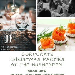 Corporate Christmas parties at The Hughenden Boutique Hotel