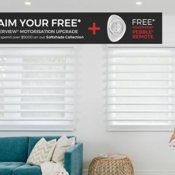 LUXAFLEX SOFTSHADES UPGRADE