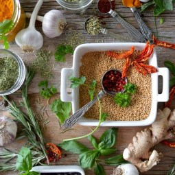 Herbs and Spices for bloating