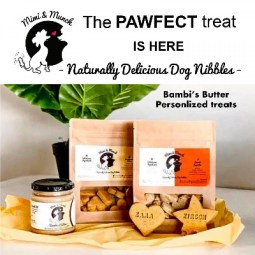 100% Natural, Wheat Free dog treats