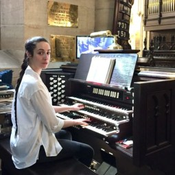 St Marks Organist Plays to Her Heart's Content