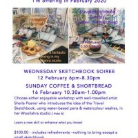 Travel Sketchbook Workshops