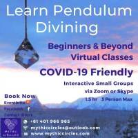 Learn Pendulum Divining: COVID9 Friendly Classes (interactive online)