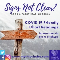 Tarot Readings:  COVID-19 Friendly!  Skype , Zoom or Phone