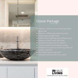 Inhaus Living, Bathroom Packages