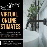 Now Offering Virtual Online Estimates