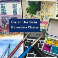 Online One-on-One Watercolour classes