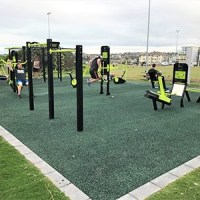Larger, improved outdoor gym reopens in Clovelly
