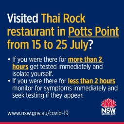 Thai Rock Restaurant, Potts Point