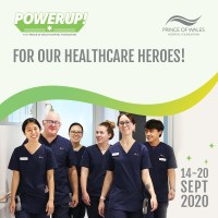 Up for a Challenge? POWer Up! with the Prince of Wales Hospital Foundation