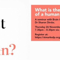 Join us for 'Am I Just My Brain?  What is the essence of a human being?' discussion