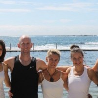 Yoga at Wylie's Baths Coogee