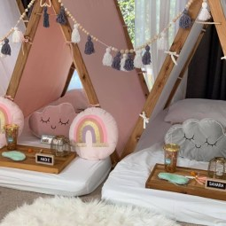 Tiny Teepees - Themed kids sleepover parties