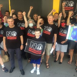 NO TOXIC INCINERATOR, SAYS MATRAVILLE COMMUNITY