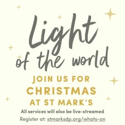 Join us for Christmas at St Mark's Church
