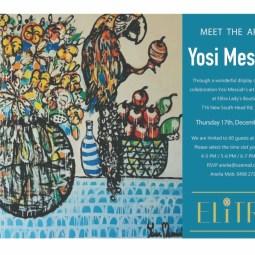 Meet the Artist : Yosi Messiah