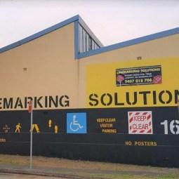 Linemarking Solutions - Sydney's #1 Linemarking Service Provider