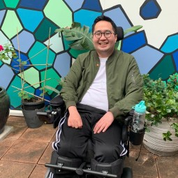 The inspiring story of how Andrew survived an 18cm tumor in his spinal cord
