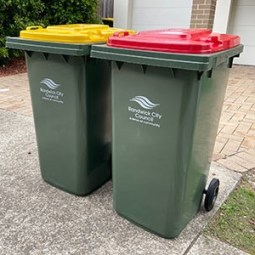 New bins being delivered to all Randwick City households