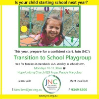 Transition to School Playgroup