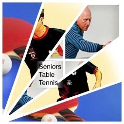 Table tennis - Active Seniors - Waverley