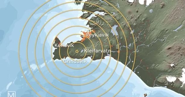"""Iceland's Prime Minister shouted """"Oh my God is an earthquake!"""""""