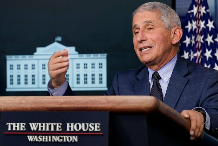 Fauci: The United States will soon be vaccinated with more than 1 million doses a day.