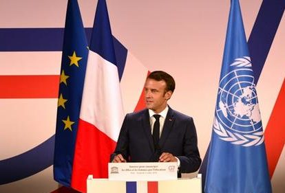 Macron: Do not accept the Anglo-European trade agreement that is not in France's long-term interest.