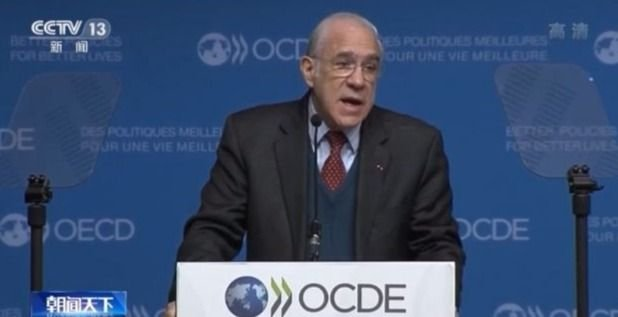 The OECD predicts China's contribution to global economic growth next year will reach one-third.