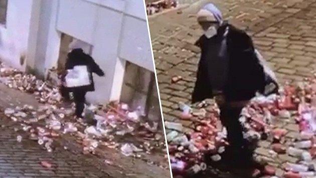 A female suspect was arrested at the scene of the terrorist attack memorial in Vienna, Austria.
