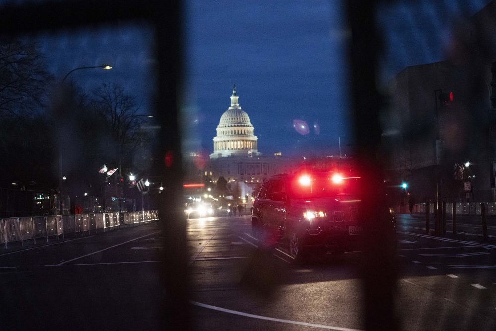 """Washington is """"locked down"""", but not because of the pandemic."""