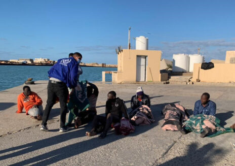 More than 40 people were killed in the first shipwreck in Libyan waters this year. All the victims came from West African countries.
