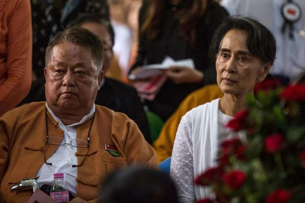 Wu Wenteng, the central executive committee of the National League for Democracy of Myanmar, was detained by the military.