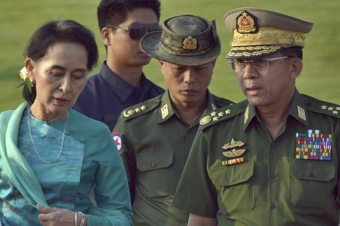 """Daw Aung San Suu Kyi speaks out: The military is returning to """"dictatorship"""" against the """"coup"""""""