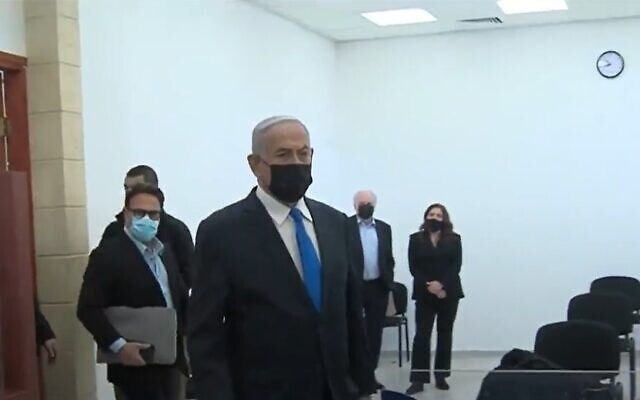 Israeli Prime Minister attended the court hearing and again denied the alleged corruption allegations