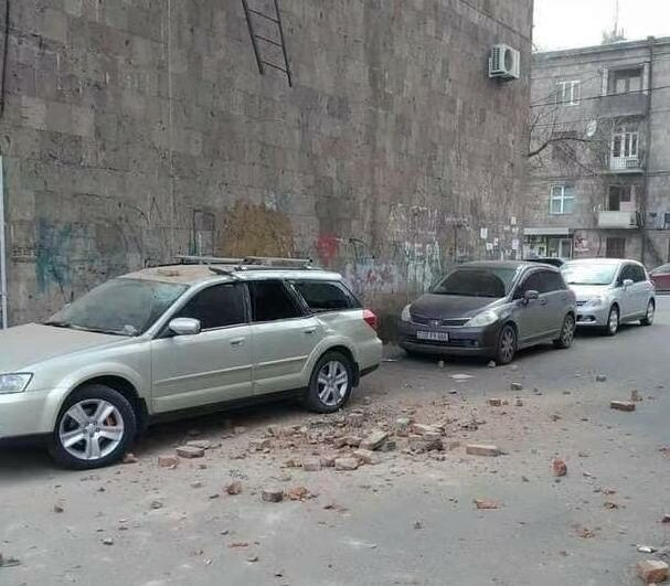 An earthquake measuring 4.7 occurred in Armenia, with a focal depth of 2 kilometers