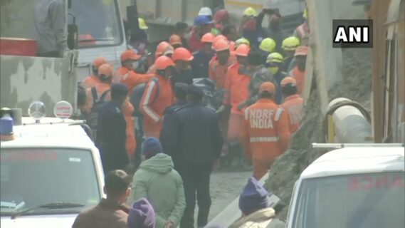 41 bodies have been found in the dam break in Uttarakhand, India, and 163 people are still missing.
